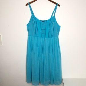 Torrid chiffon dress size 2X
